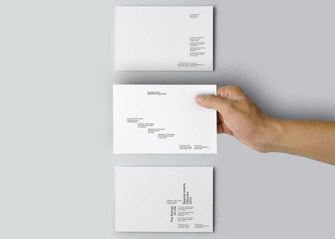 The school of life olga poplavskaya poster size 297 mm x 420 mm invitation card size 1485 mm x 210 mm typeface helvetica neue stopboris Gallery