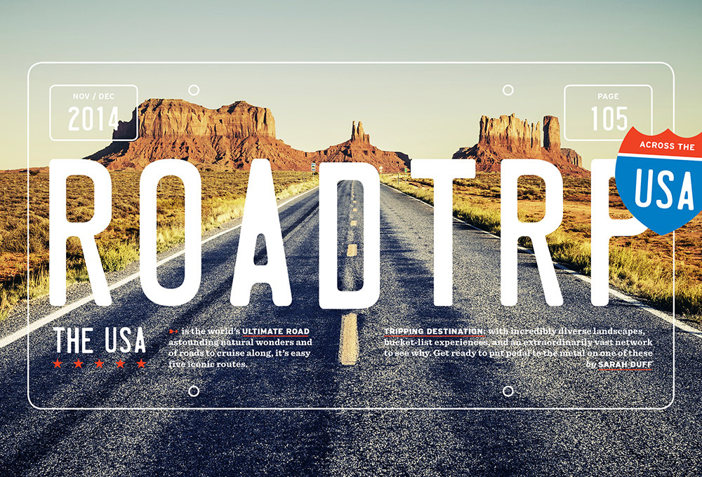 Road Trip U S A Matt Chase Design Illustration