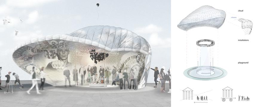 Freedom pavilion jac studios for Pavilion concept architecture